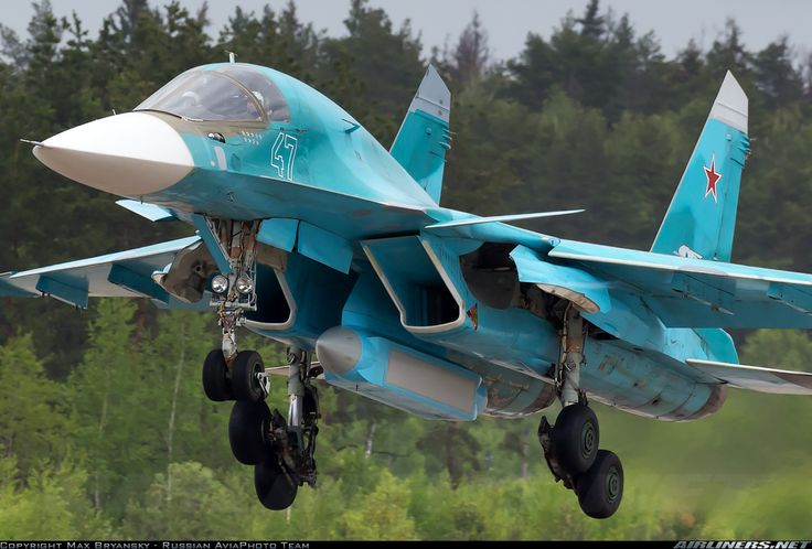 Sukhoi Su-34R - Russia - Air Force | Aviation Photo #2647429 | Airliners.net