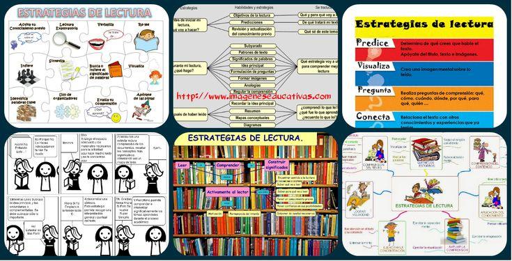ESTRATEGIAS DE LECTURA: Colección de Infografías