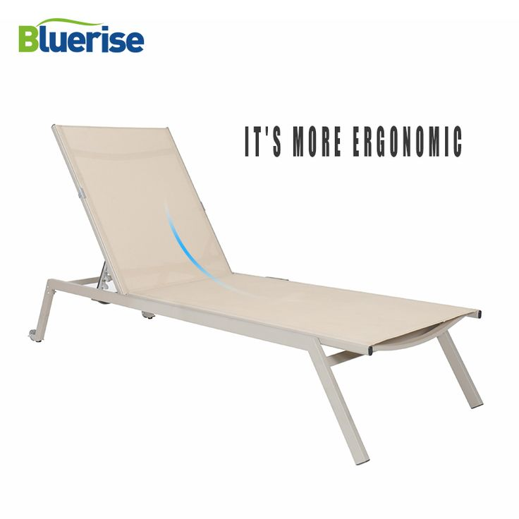 Buy BLUERISE Sun Lounger Chair Outdoor Patio Furniture European style Leisure Chaise Textilene Mesh Fabric 3 positions reclining ….. Click link to buy….. #home #garden #outdoor #spring #hammock #hanging #airpump #costway #umbrella #furniture