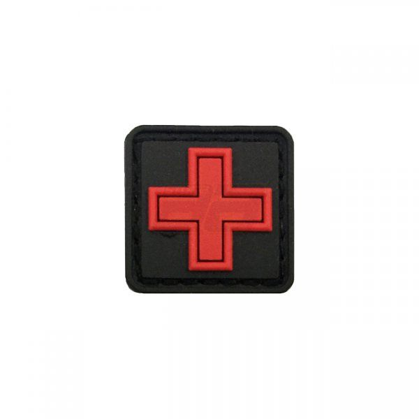 Pitchfork Medic Cross Patch - Red