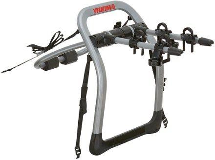 Yakima HalfBack 2-Bike Trunk Rack Grey