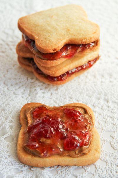 PB Cookies/Fairy Bread Biscuits by raspberri cupcakes, via Flickr