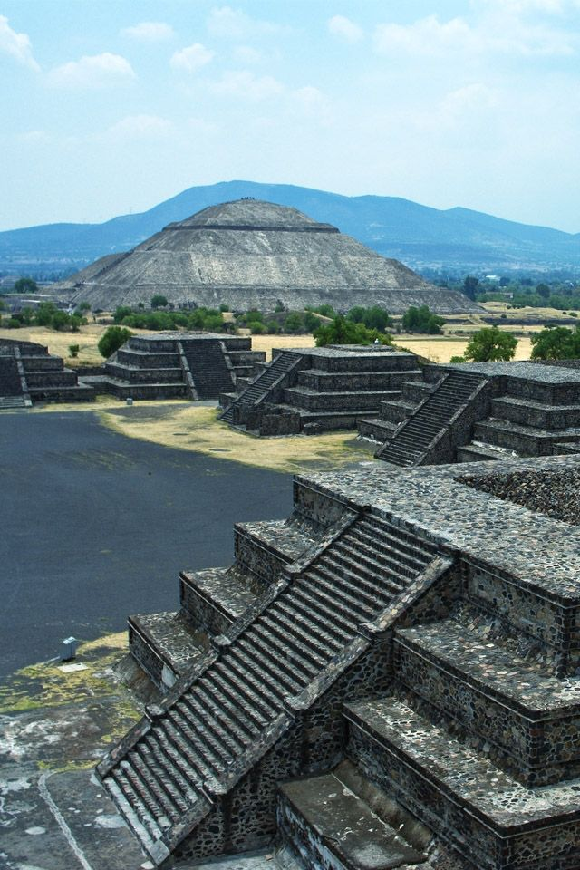 The Pyramid of the Sun, Teotihuacan, Mexico