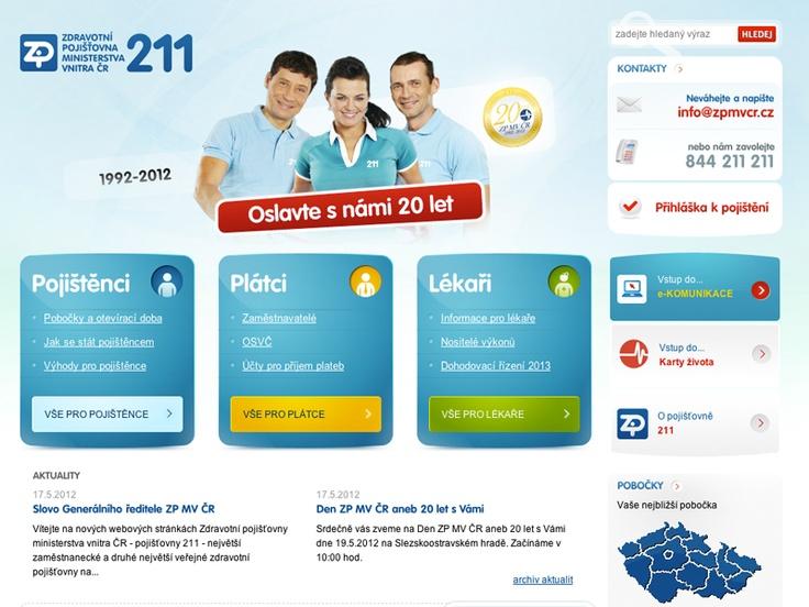 Čerstvě upečený web pro ZP MV ČR! http://bit.ly/JWw3bN #webdesign #web #insurance