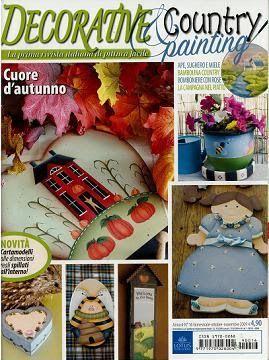 Decorative & Country painting n. 16 - Sandra Vinivikas Artesanatos - Picasa Web Albums... FREE MAGAZINE!