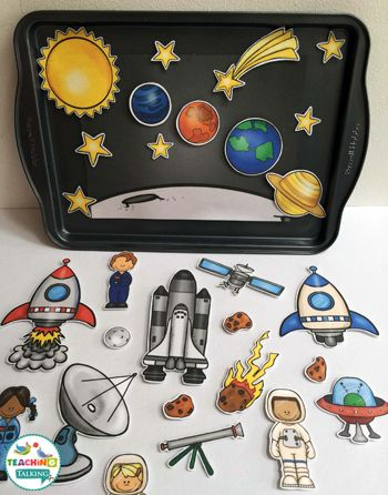 Space Themed Vocabulary Activities & Games by teachingtalking.com