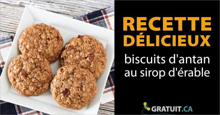 Des biscuits qui vous feront voyager dans le temps!