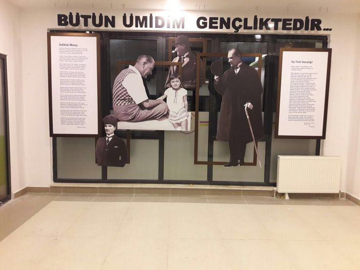 Çerçeveli Atatürk Köşesi #3