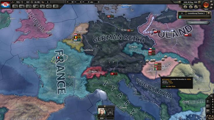 Hearts of Iron IV - Luxembourg Survival - Part 6
