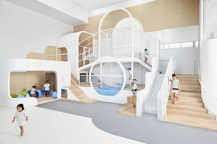 Completed in 2017 in Sydney, Australia. Images by Michelle Young, Amy Piddington. . NUBO – as its meaning cloud suggests – is hard to pin down with its unlimited potential as a stimulating and inclusive play centre to encourage...