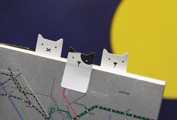 Sticky Note [ Cat ] / Note pad / Memo pad / Bookmark / Index sticky note by DubuDumo on Etsy https://www.etsy.com/listing/204298747/sticky-note-cat-note-pad-memo-pad