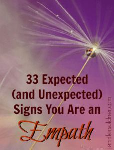 Signs you are an empath