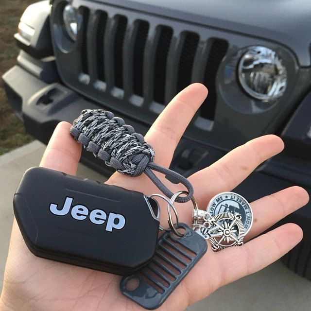 Strong Is Beautiful Grill Key Fob Etsy In 2020 Jeep New Car Jeep Keys Jeep Names