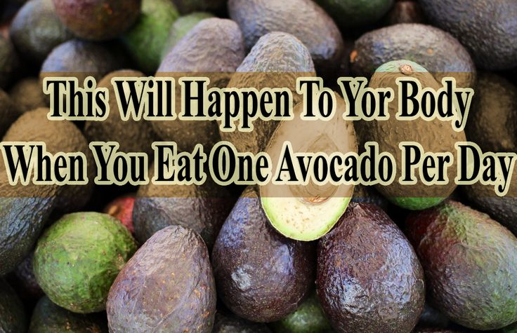 Lean on what will happen to your body when you eat one avocado per day http://www.extremenaturalhealthnews.com/this-will-happen-to-your-body-when-you-eat-1-avocado-per-day/