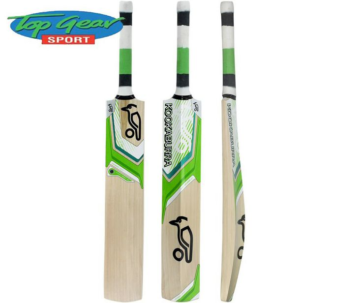#Kookaburra Cricket Bats are carefully hand crafted with every bat using the finest grade specific willow available. Visit #TopGearSport for our selection of sport equipment.
