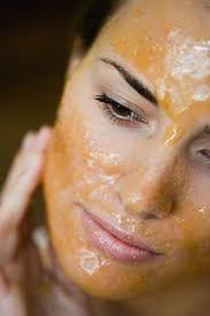 The combination of egg yolk, honey and olive oil makes a wonderful facial mask for dry skin.         Egg Yolk has vitamin A that has retinoids or Retin A which is used to help skin shedding, reg