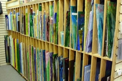 Glass Art Studio idea:  Storing sheets of glass.  Any suggestions re: how to build this?