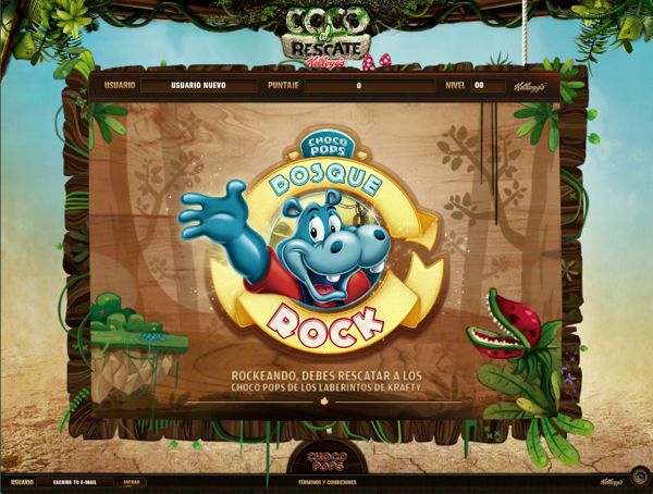 Choco Pops Games by Andrés Moncayo, via Behance