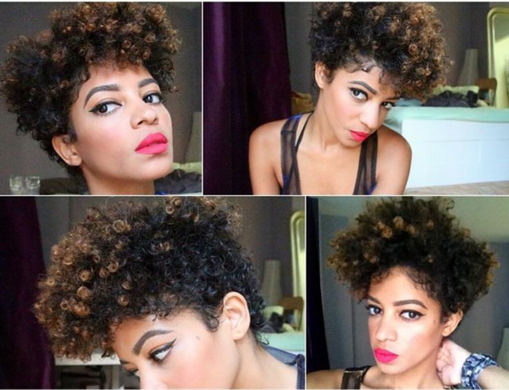 Tapered Natural Hair Styles: 1000+ Ideas About Natural Tapered Cut On Pinterest