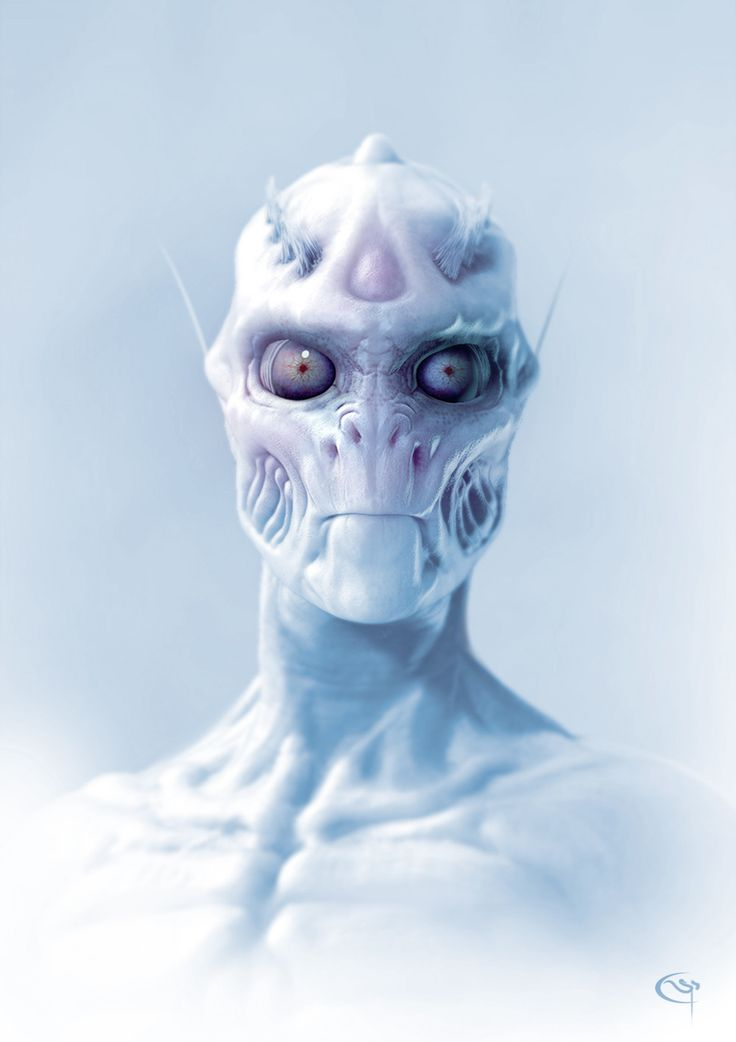 Spoiler Free Movie Sleuth: Images: Sci-Fi Alien, Creatures And Monster Art From Pascal Sguera