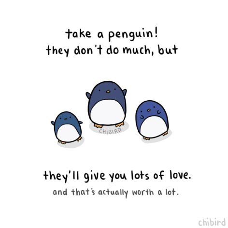 It's dangerous to go alone! Why not have a penguin companion with you on your journey? >u
