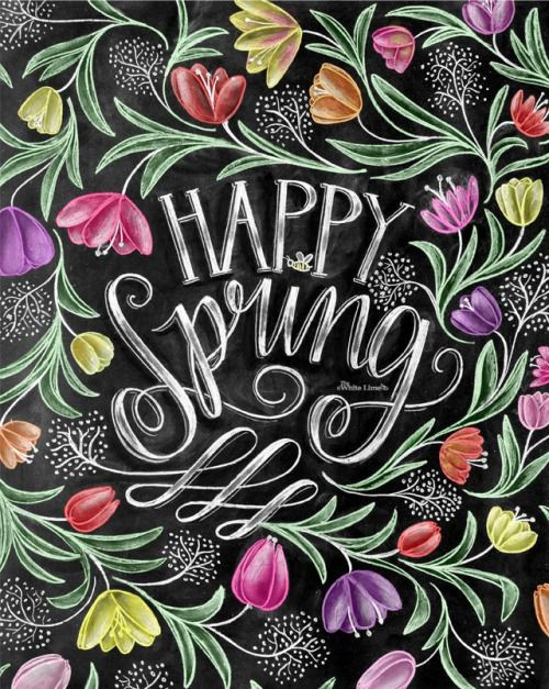 Happy Spring to all my fellow pinners...♥
