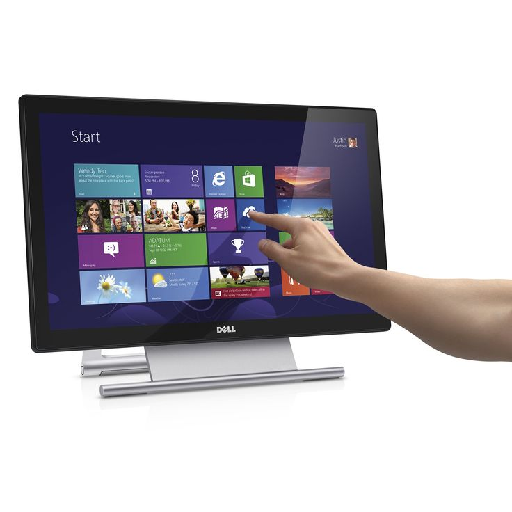 Dell Computer S2240T Touch Panel H6V56 21.5-Inch Screen LED-lit Monitor