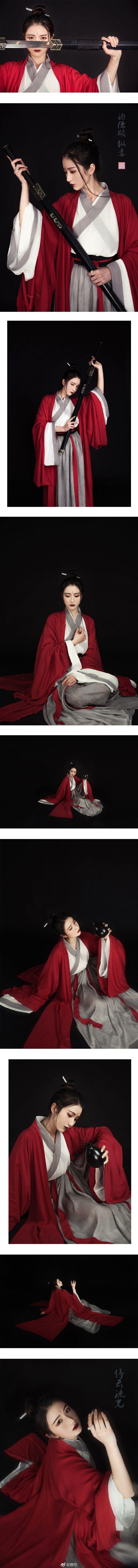 #停云流光汉服# 春秋款魏晋系列汉服成衣发... 来自颜祀 - 微博