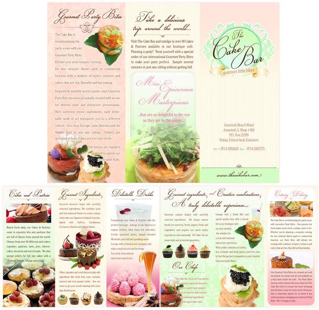 13 best Brochure Bakery images on Pinterest