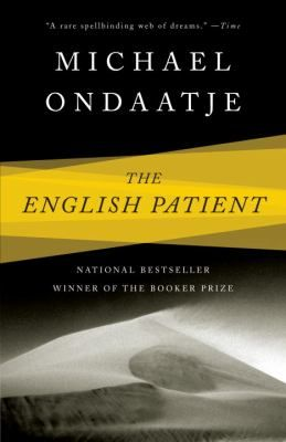 Movie February 11th; discussion February 25th: The English Patient by Michael Ondaatje.