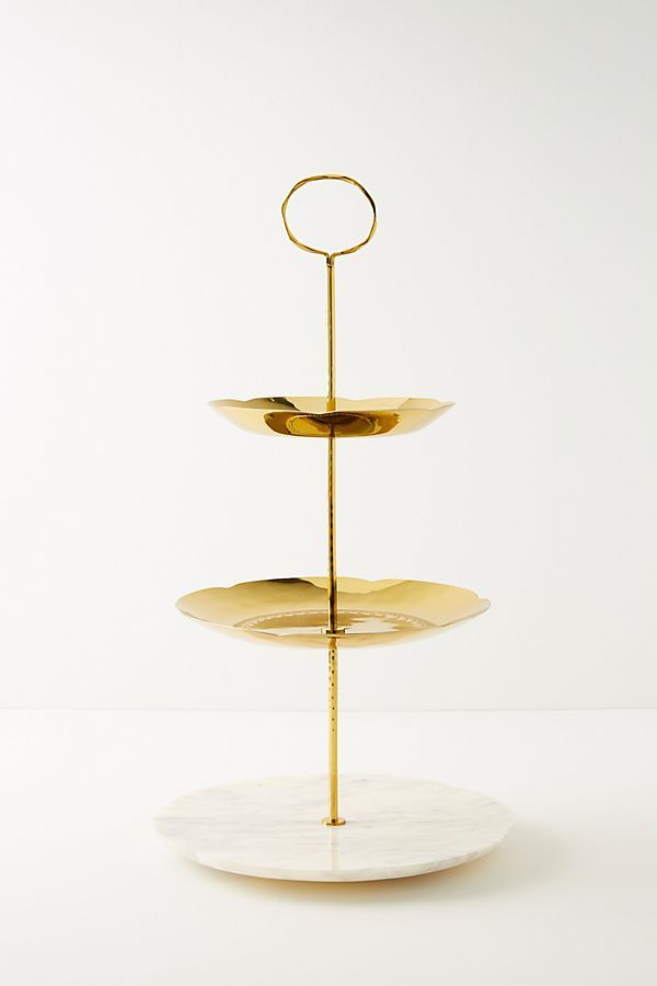 Mera Serving Stand Serving Stand Gold Movie Standing