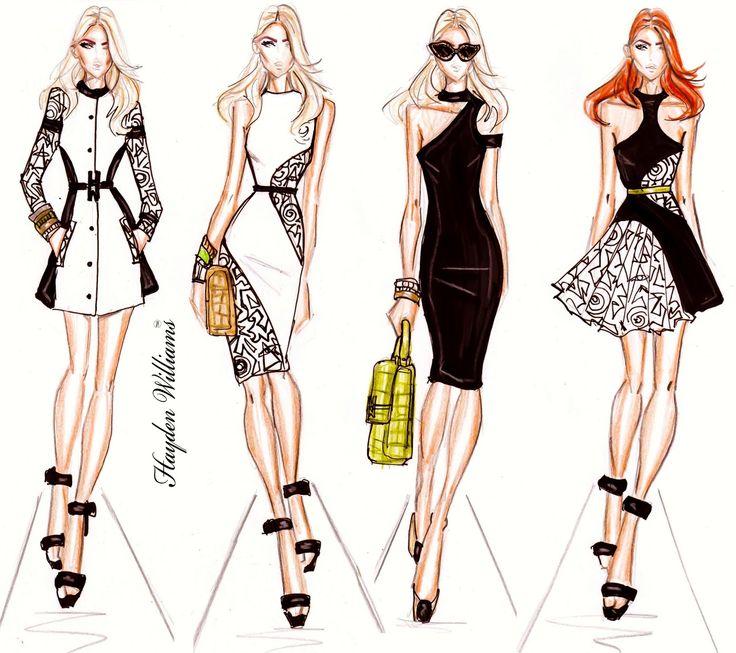 Hayden Williams Fashion Illustrations | Hayden Williams RTW Spring/Summer 2012 collection