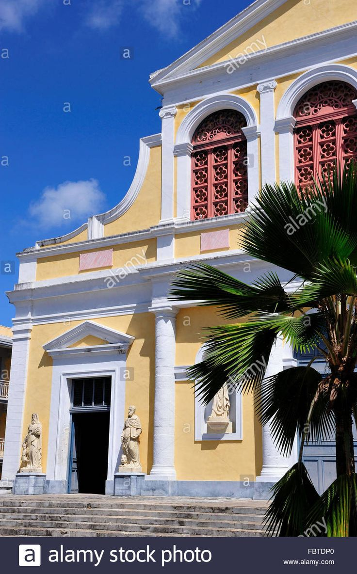 la Guadeloupe, cathedral, Point-a-Pitre
