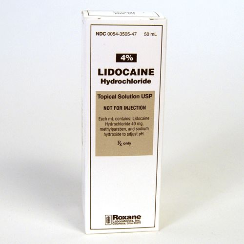 lidocaine (xylocaine) 4 mucosal solution