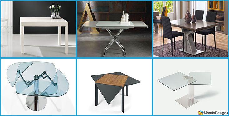 35 Tavoli Allungabili Moderni dal Design Particolare
