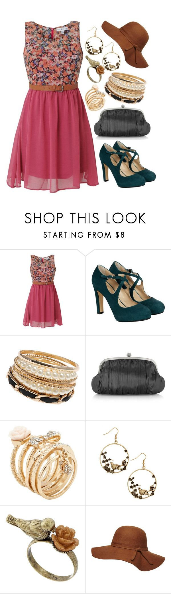 Mix & Match: Summer Outfit #169 by mscody on Polyvore featuring Rare London, Hobbs, Julia Cocco', ALDO, Dorothy Perkins, vintage, Summer, summerstyle, summeroutfit and summerfashion