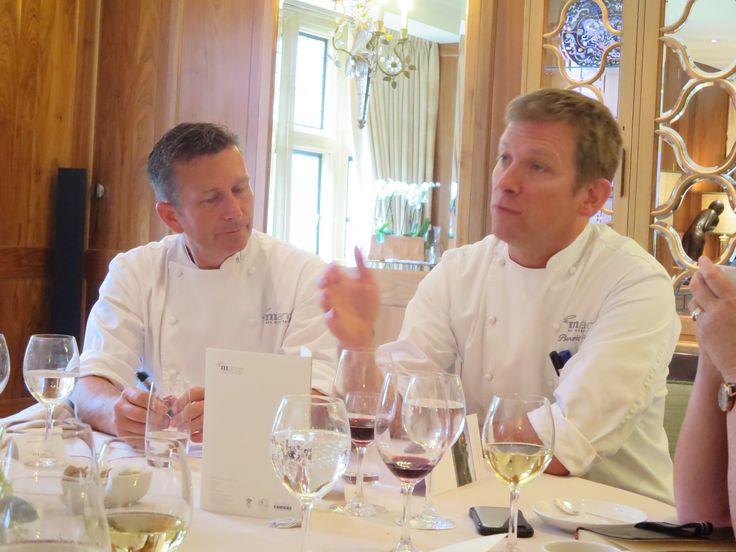 The wonderful chefs - Gary Jones and ....