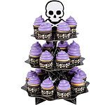 Halloween Cake Decorations Skull Cupcake Stand