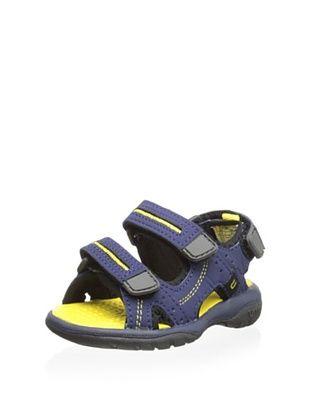 50% OFF umi Kid's Reece Sandal (Navy/Multi)