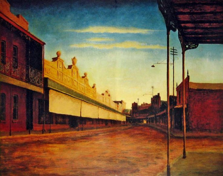 West Wyalong 1949 George Russell Drysdale (1912-81) Australia