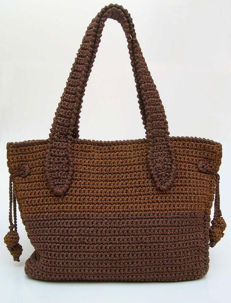Two sizes bag pattern Crochet pattern by ChabeGS | Knitting Patterns | LoveKnitting