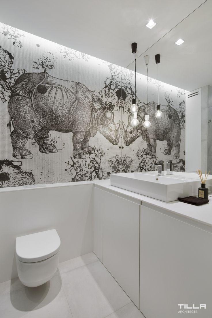 Bardzo szary apartament - Blog o designie i wnętrzach punktsiedzenia.net