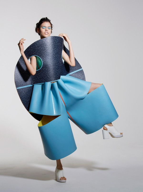 Valeska Jasso Callado Collection freaky , wierd , surreal art fashion couture....why ? WHY?