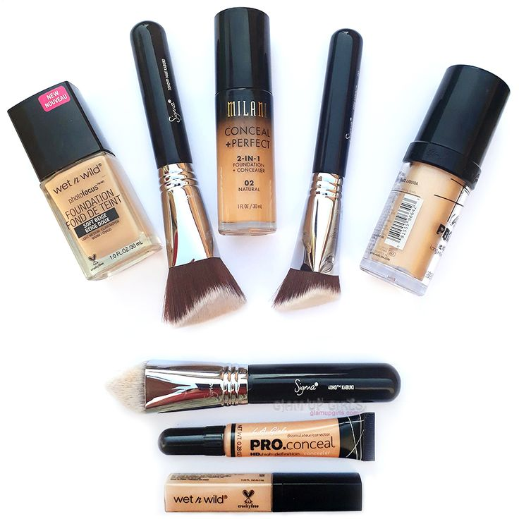 Review of L.A. Girl Pro Coverage Long Wear Illuminating Foundation and comparison with other good budget friendly foundations.