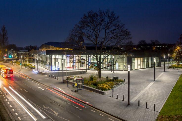 Town Hall, Troisdorf (Germany) Stadthalle, Troisdorf (Deutschland) #luminaire #light #Beleuchtung #leuchte