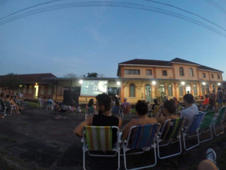 Cinema de Rua - Estação da Cultura (Montenegro-RS)