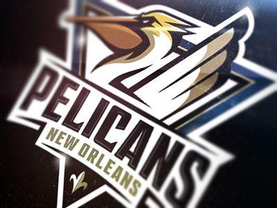Logo Design Pelicans Logotype Pinterest Logos