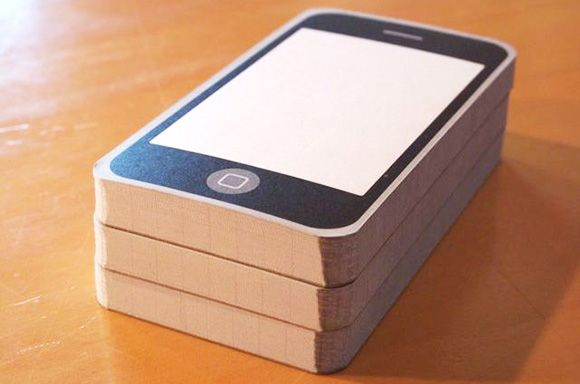 iPhone notepads! Cool!