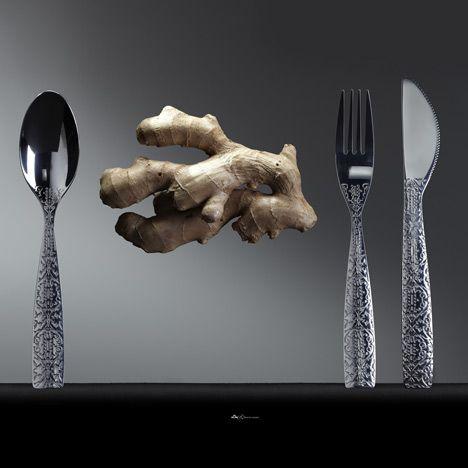 Tableware by Marcel Wanders for KLM - Dezeen