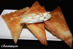 Recette de Bricks aux crevettes et Philadelphia cream cheese